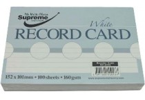Revision-Record Cards