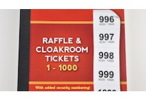 Cloakroom and Raffle Tickets