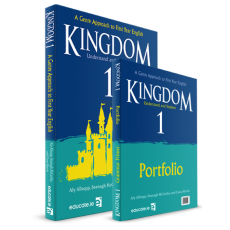 Kingdom 1 Textbook& Portfolio Book/ Grammer Primer